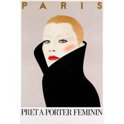Affiches collector stock des editions le chapitre de 1972 - Fiche de poste vendeuse pret a porter ...