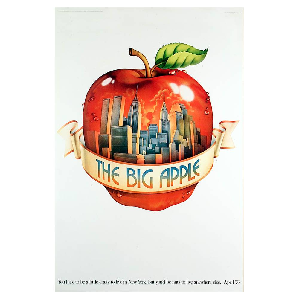 The big apple for Ohrensessel york big