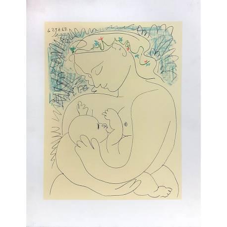 Picasso, la grande maternité